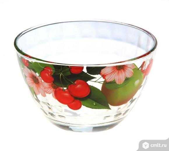 Ваза для фруктов стекло большая