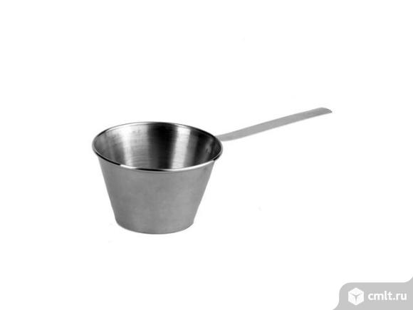 Кокотница металическая н/ст.D=8.5 см.