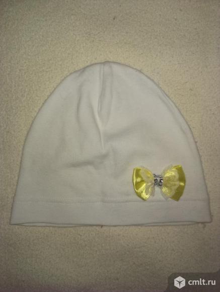 Тонкая трикотажная шапочка на 1-3 года