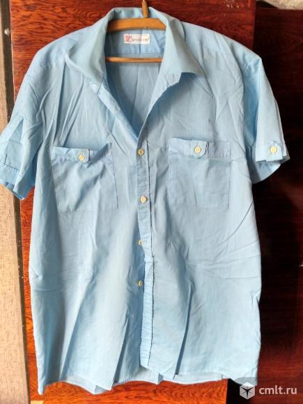 Рубашка бирюзовая. Фото 1.