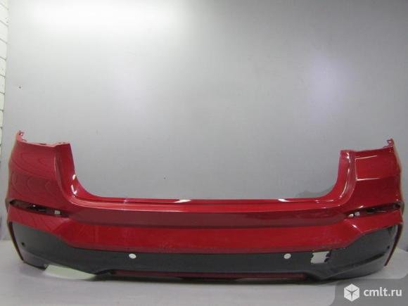 Бампер задний под парктр BMW X4 F26 14- б/у  51128064118 51128066702 4*. Фото 1.