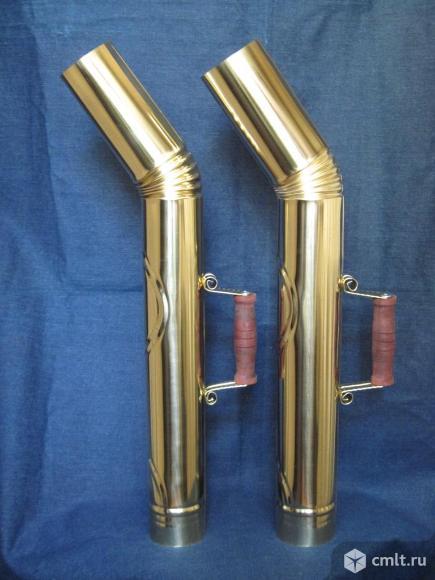 Труба из латуни, для самовара.