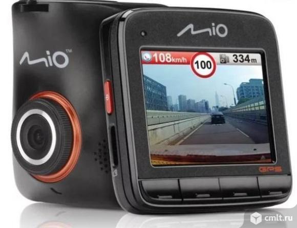 Как новый видеорегистратор Mio MiVue 518 GPS, оповещение о камерах