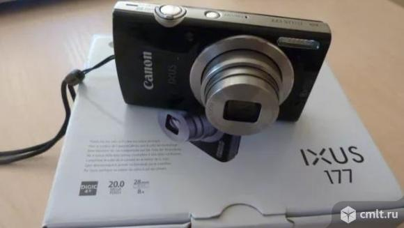 Новый, гарантия фото Canon Digital ixus 177 черный. Фото 1.