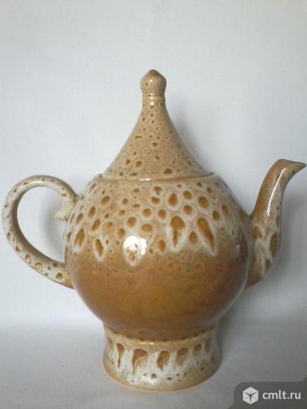 Чайник керамический советских времен
