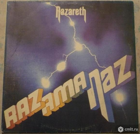 "Грампластинка (винил). Гигант [12"" LP]. Nazareth. Razamanaz. 1973. RGM / Beloton, 1994. Беларусь.. Фото 1."
