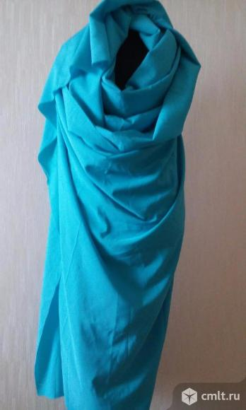 Отрез ткани на платье. Фото 1.