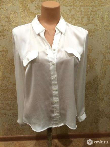 Продаю белую шелковую блузку испанского бренда ANtea