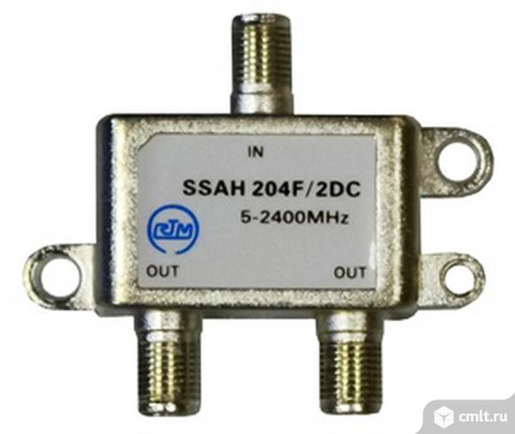 Делитель спутникового и эфирного сигнала сплиттер на 2 выхода RTM SSAH204F/2DC