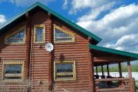 Хвощеватка дом сруб деревянный большой участок гараж река