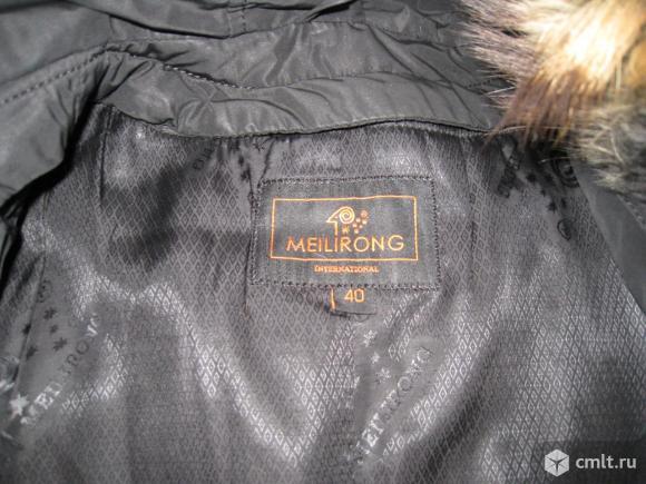 Зимняя куртка с меховой подстежкой