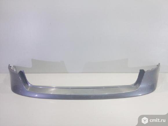 Бампер задний верхняя часть AUDI A4 B8 ALLROAD 10-16 б/у 8K9807511FGRU 4*. Фото 1.