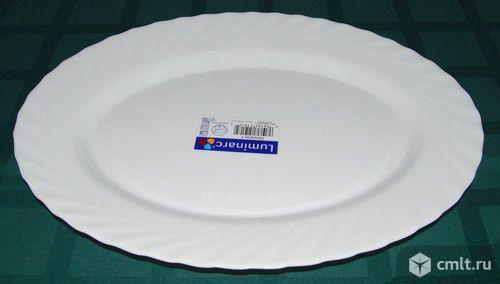 Блюдо, Тарелка, овальная Luminarc Trianon Трианон  34*26