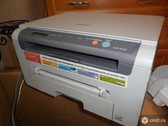 Принтер лазерный 3в1 Samsung 4200 отличное состояние