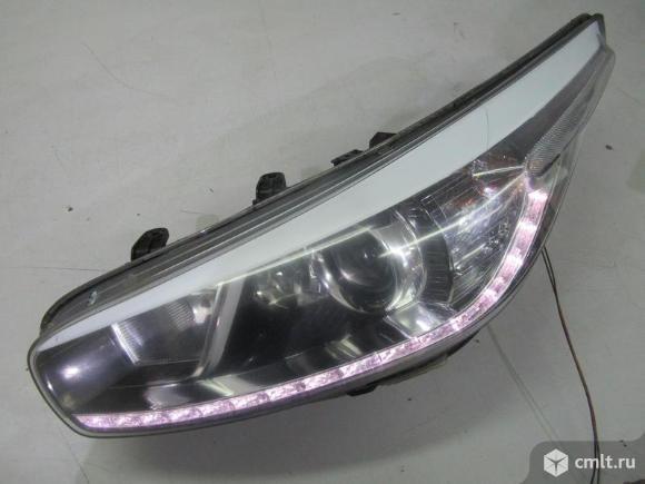 Фара LED левая KIA CEED 12- б/у 92101A2220 4.5* -  исправная дхо. Фото 1.