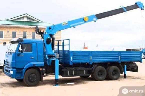 Автокран-манипулятор 10 т. Перевозка спецтехники, бытовок, контейнеров, ЖБИ, оборудования