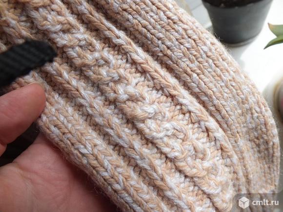 Детскй тёплый свитер вязаный 122-128р