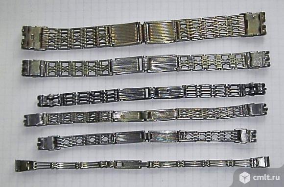 Серебряные браслеты для часов.. Фото 2.