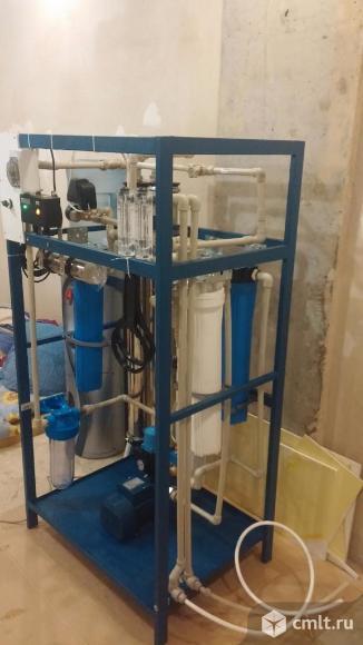Системы очистки воды. Обратный осмос.