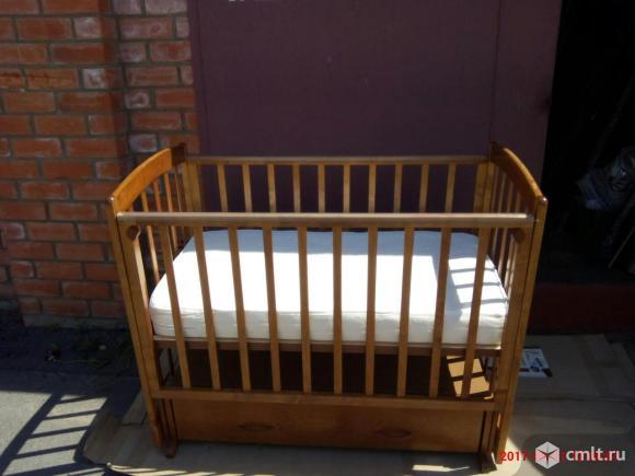 Кровать качалка детская. Фото 1.
