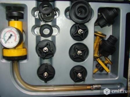 Тестер герметичности систем охлаждения ZECA 415. Фото 2.