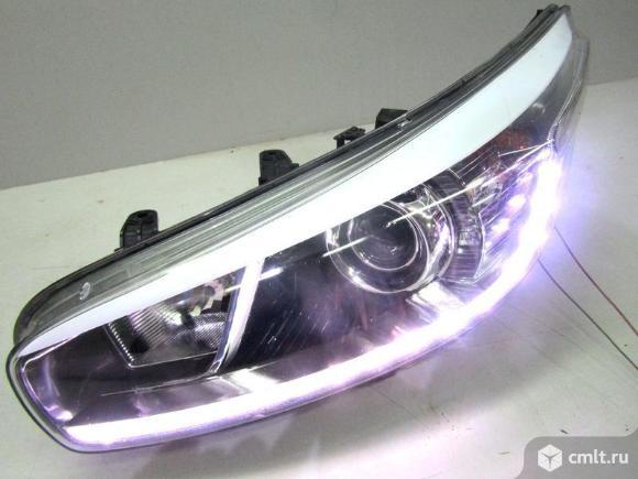 Фара левая LED XENON KIA CEED 12- б/у 92101A2060 4* ++  исправная дхо. Фото 1.
