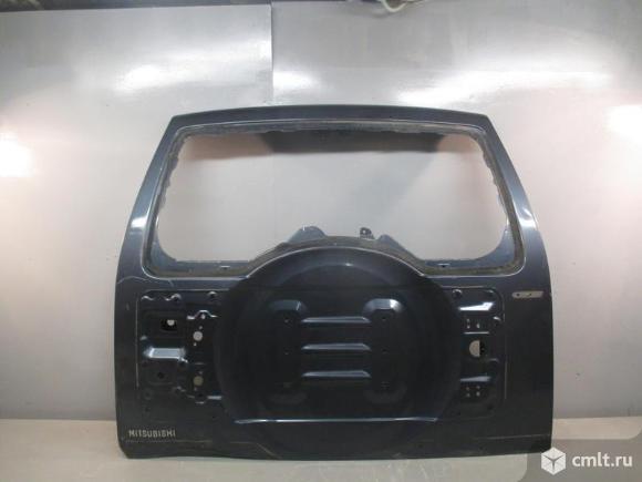 Крышка багажника MITSUBISHI PAJERO V80 V90 07- б/у 5821A095 3*. Фото 1.
