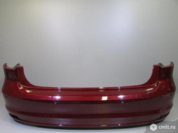 Бампер задний под парктр. VW JETTA 14- б/у 5CU807421CGRU 3*. Фото 1.