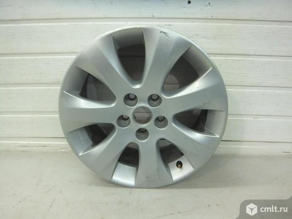Диск колесный литой R16x6.5J ET39 5x105 OPEL ASTRA J 12- б/у 1750065 13376018 4*