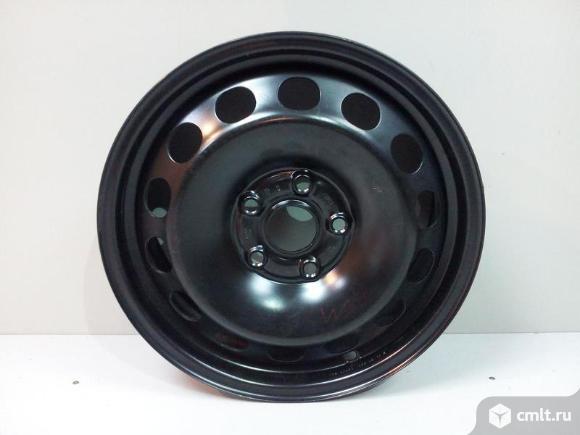 Диск колеса стальной R16x6J ET50 5x112 SKODA YETI 09- новый оригинал