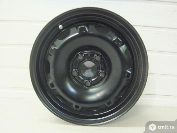 Диск колесный стальной  R14x6J ET37 5x100 SKODA FABIA 07- новый 6Q7601027C03C