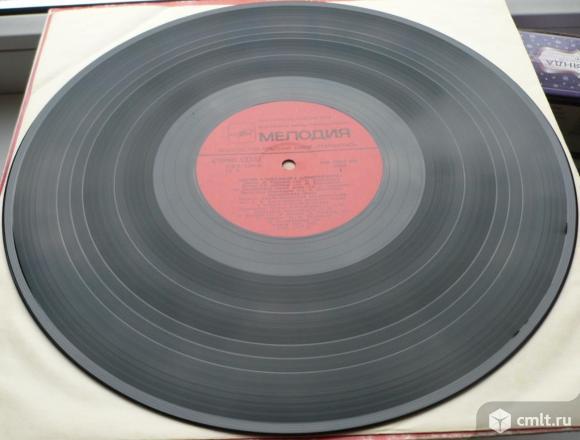 "Грампластинка (винил). Гигант [12"" LP]. Песни Александра Александрова. (C) ""Мелодия"", 1983. СССР.. Фото 8."