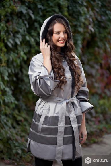 Роскошная удлинённая куртка от Sinta