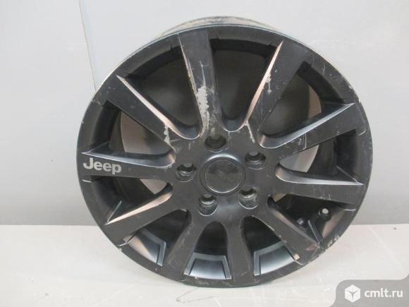 Диск колесный R18X7.5J ET56 5X127 JEEP GRAND CHEROKEE 07- б/у 82212335 3*