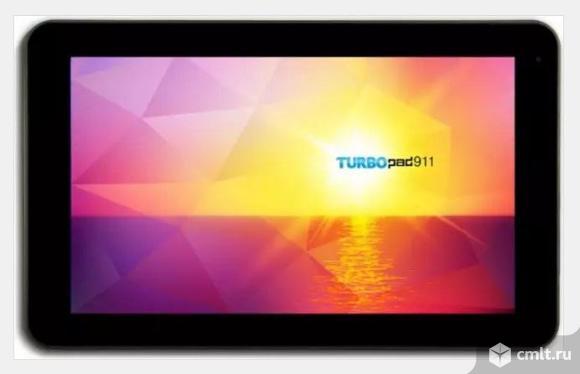 """Металлический 9"""" Планшет TurboPad 912 8 Гб 3G черный"""