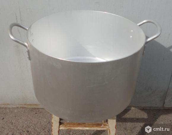 Котел алюминиевый 30 литров новый без крышки диаметр 40см. высота 25см.