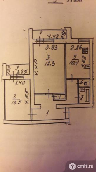 2-комнатная квартира 67,7 кв.м