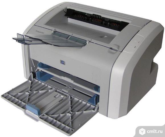 Принтер лазерный HP 1020 отл сост