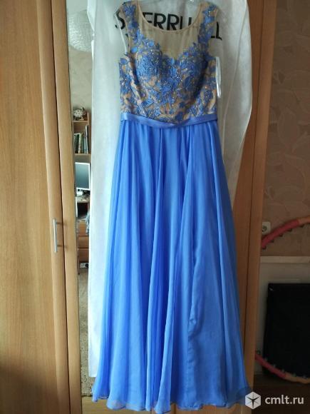 Платье (выпускное) длинное нарядное