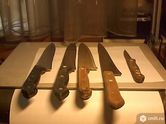 Ножи кухонные поварские разные б\у.