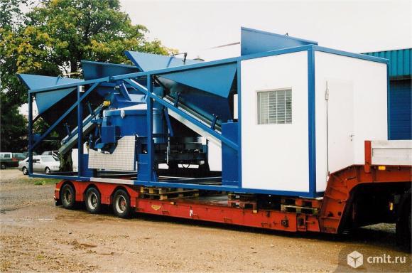 Мобильный бетонный завод Sumab К-80. Фото 1.