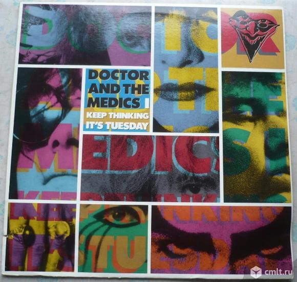 """Грампластинка (винил). Гигант [12"""" LP]. Doctor and The Medics. I Keep Thinking It's Tuesday. 1987.. Фото 1."""
