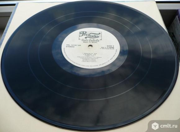 "Грампластинка (винил). Гигант [12"" LP]. Theo Vaness. Back To Music. 1978. США. Disco, Soul/Funk.. Фото 8."