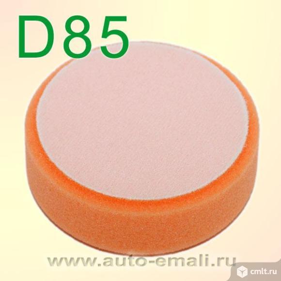 Круг полир. липучка Fitter D85 оранжевый