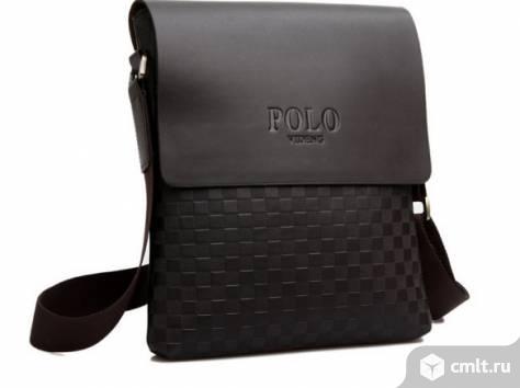 Мужская сумка планшет POLO. Фото 2.