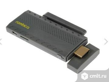 Как новый, гарантия медиаплеер Rombica Smart Stick Quad v001. Фото 1.