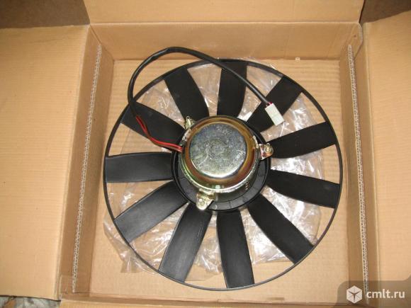Вентилятор радиатора ГАЗ. Фото 2.