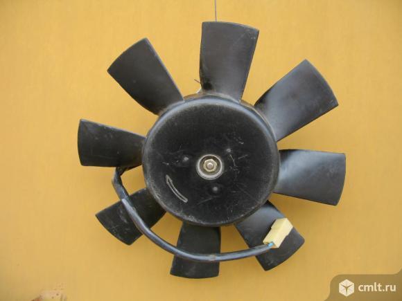 Вентилятор радиатора ВАЗ. Фото 1.