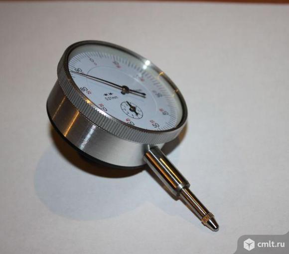 Индикатор часового типа (микрометр) 0-10мм. Фото 1.