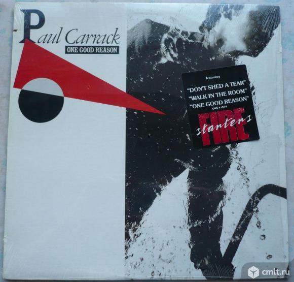 "Грампластинка (винил). Гигант [12"" LP]. Paul Carrack. One Good Reason. 1987 Chrysalis. Канада.. Фото 1."